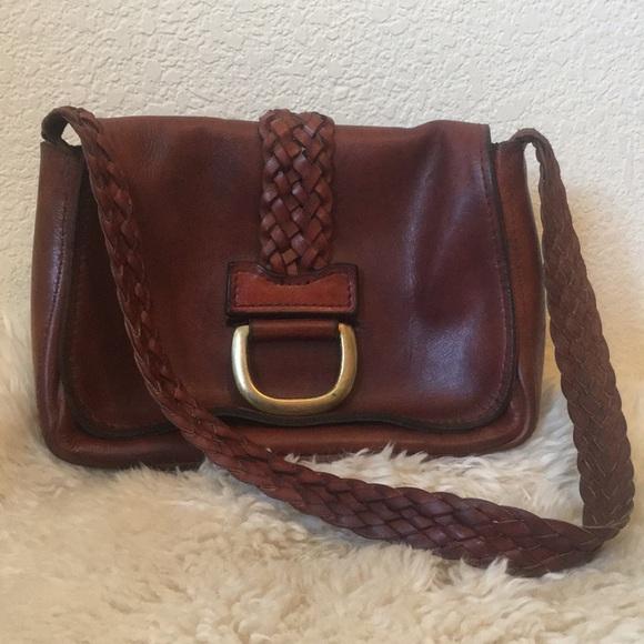 Vintage Handbags - Vintage braided strap 1970s shoulder bag